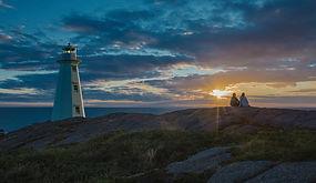 Sunrise at Cape Spear Lighthouse Nationa