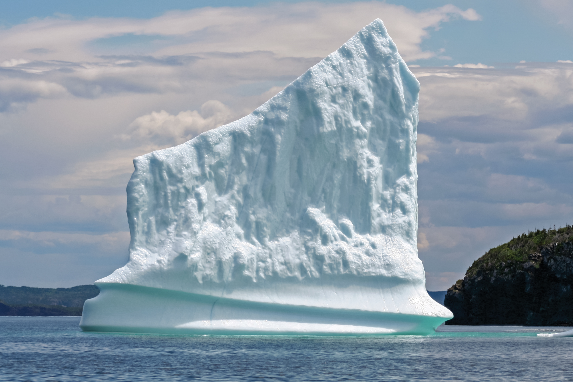 Harp Shaped Iceberg Near Triton Island G