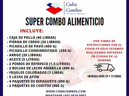 Combo alimenticio CUBA 001