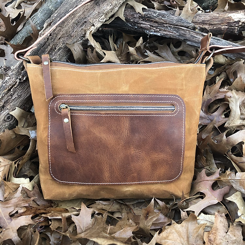 Honey wheat crossbody