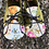 Thumbnail: Floral baby shoes