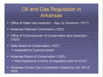 Happy 75th anniversary to the Arkansas Oil & Gas Commission!