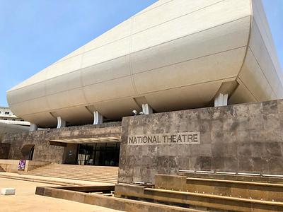 Joel DeCandio at The National Theatre of Ghana