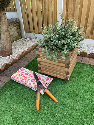 Yorkshire Square Wooden Planter