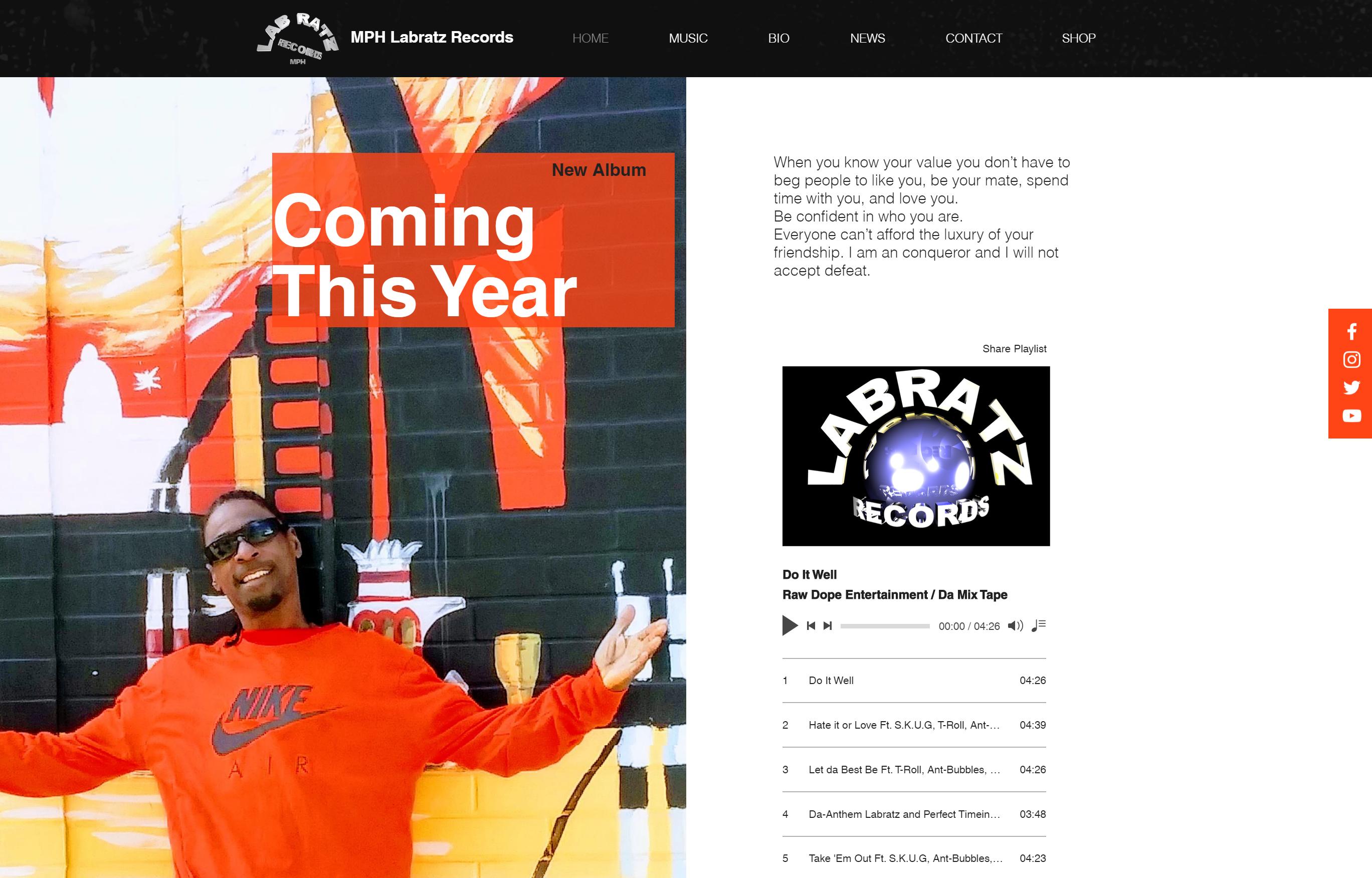 MPH Labratz Records