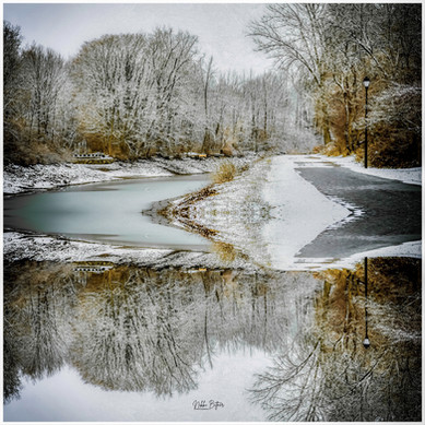 Fairport Canal Reflection
