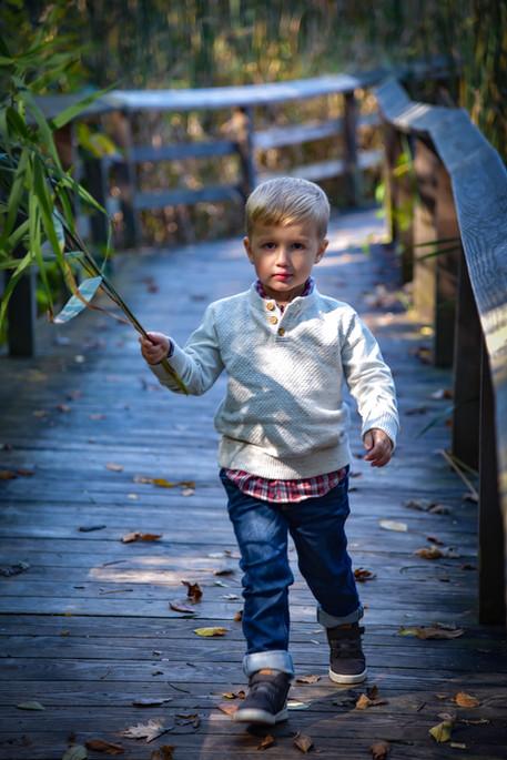 This boy & his sticks!