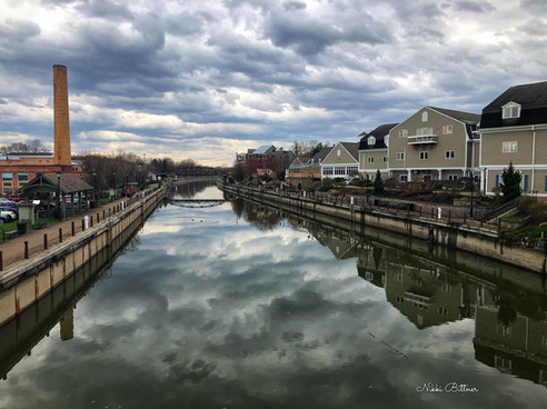 Fairport Village-Canal Reflection