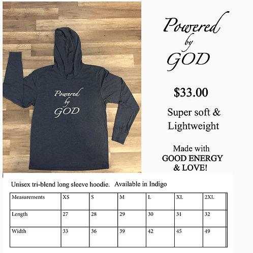 Powered by GOD shirt
