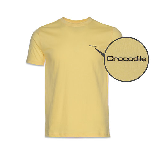Crocodile Cotton R/N Tee-02