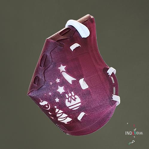 Weihnachtsmaske - Crazy
