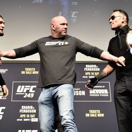 UFC 249: How the Show Can Go On