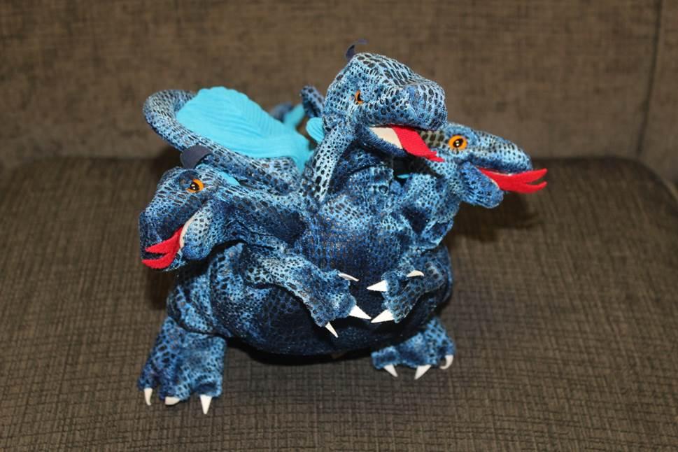 puppet 3 headed dragon
