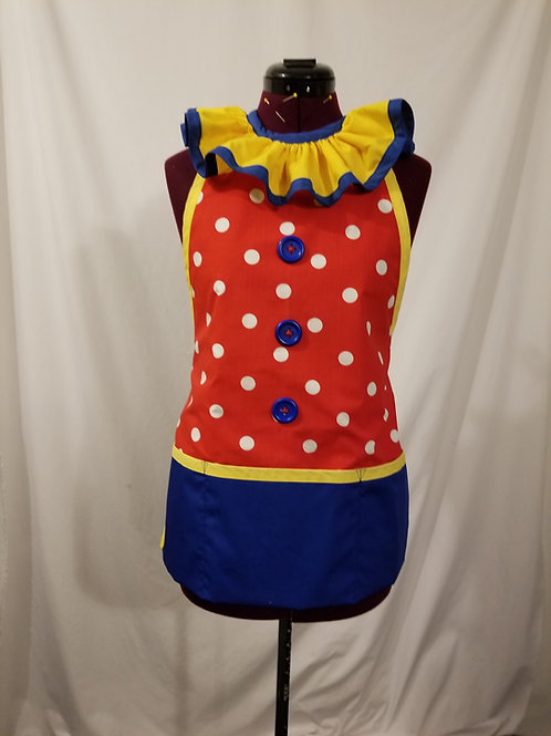 Clown Apron - Ladies