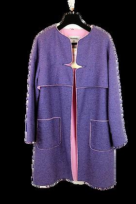Chanel Coat Purple