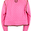 Thumbnail: Philipp Plein Couture Leather Jacket Pink