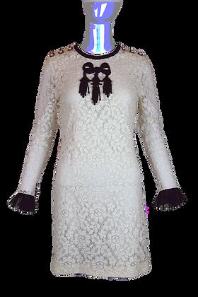 Gucci Lace Dress White