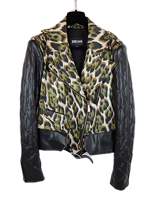 Just Cavalli Leather Jacket