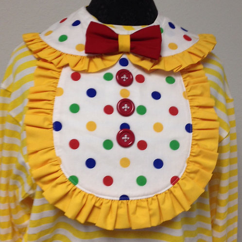 Ladies Ruffled Bib