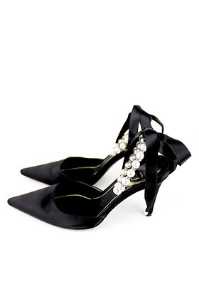 Rene Caovilla Pearl High Heels