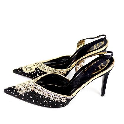Rene Caovilla Sequin Heels
