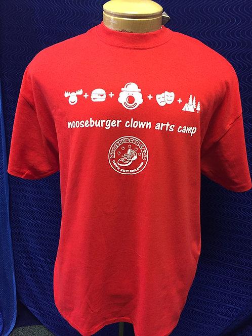 Mooseburger Camp - Red