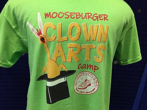 Short Sleeve Lime Green Rubber Chicken T Shirt