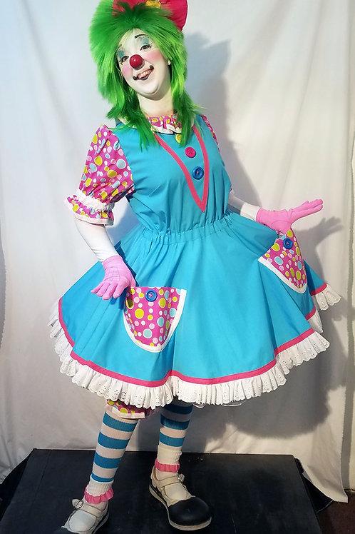 Rufflez Lite Clown Dress with Lite Bloomers