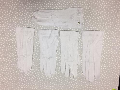Cotton White Gloves