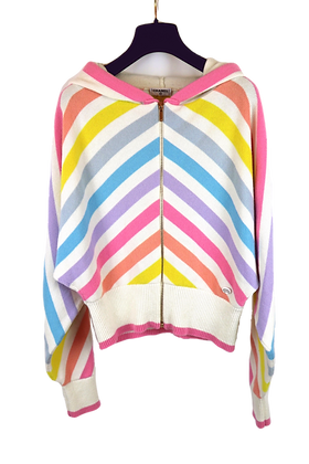 Chanel Cardigan striped