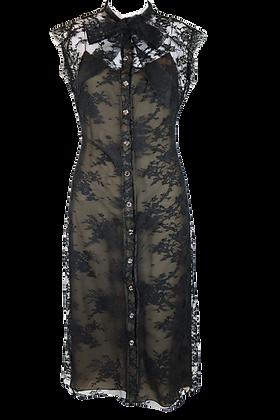 Azzaro Lace Dress