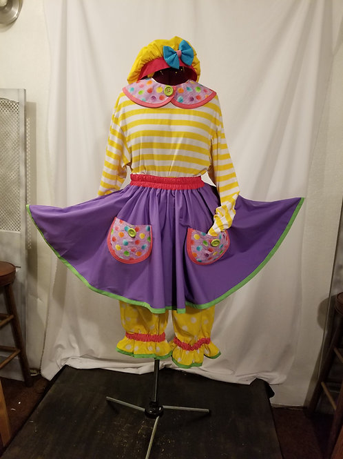 Cutie Circle Skirts and bloomers or jumper pants