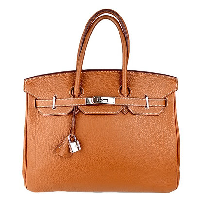 Hermès Birkin 35 Gold Togo Leather