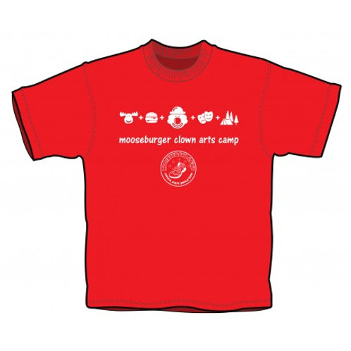 Iconic Mooseburger Camp T-Shirt