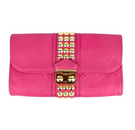 Pink Louis Vuitton Clutch