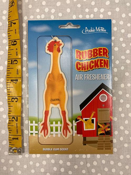 Rubber Chicken Air Freshener