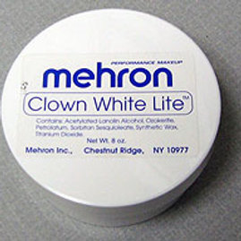 Mehron Clown White Lite 7oz