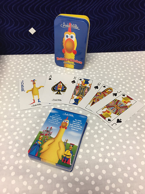 Rubber Chicken Deck of Cards