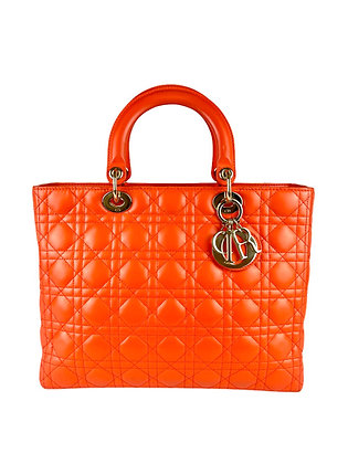 Lady Dior Cannage Leather