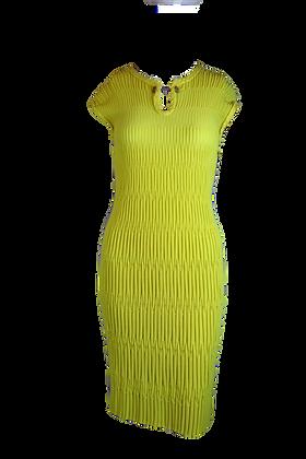 Chanel Dress Lemon