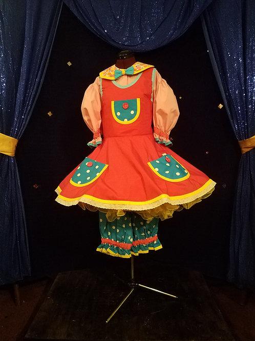 Bib Jumper Dress with Lite Bloomers