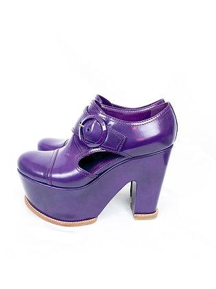 Louis Vuitton Lackleder Clogs
