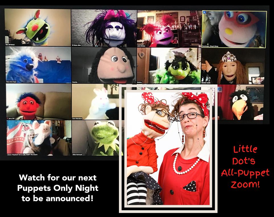 All Puppet Zoom for Mooseburger eAlley 2
