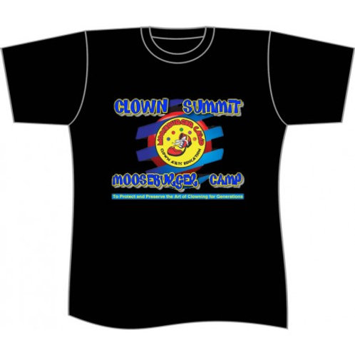 Clown Summit at Mooseburger Camp T-Shirt