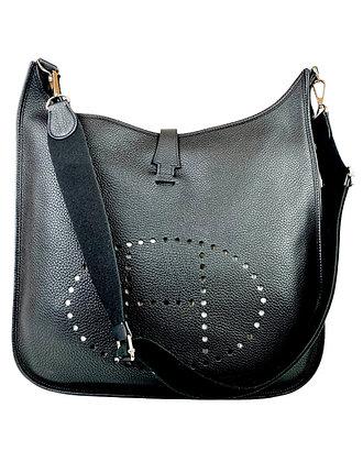 Hermès Clemence Leather Evelyne TGM Bag