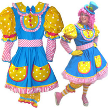 Cutest Clown Dress with Lite Bloomers