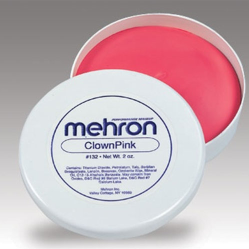 Mehron Clown Pink 2oz.