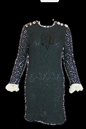 Gucci Lace Dress Black