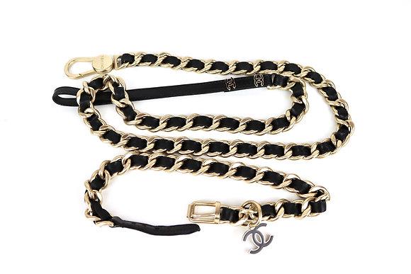 Chanel Dog leash and collar set