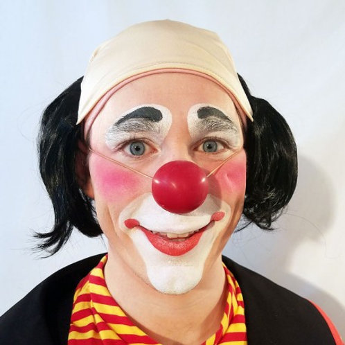 Bald Tramp Short Clown Wig